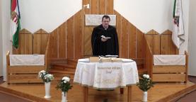 Református istentisztelet